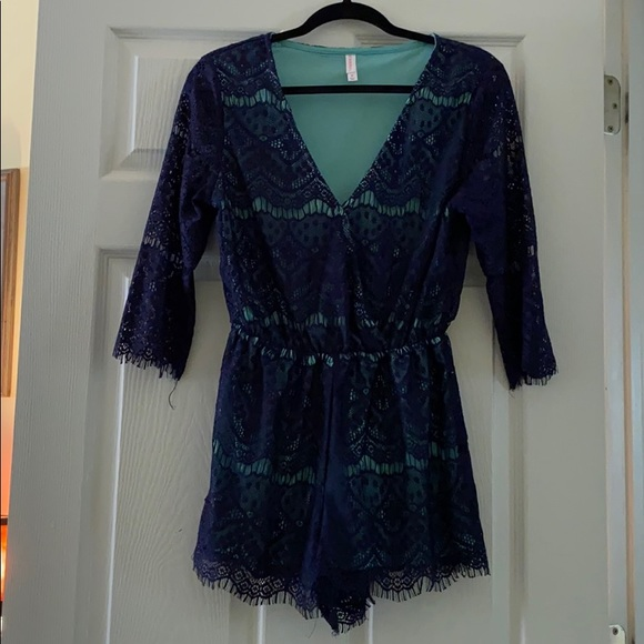 Kohl's Other - Lacy Romper